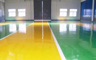 Tipos de pavimentos continuos interiores