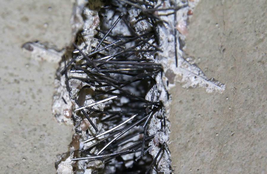 ventajas del hormigón armado con fibras de acero