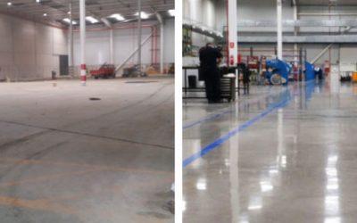 Cómo recuperar pavimentos de hormigón mediante pulido en seco