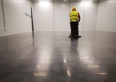 Galería de trabajos de suelos industriales y decorativos