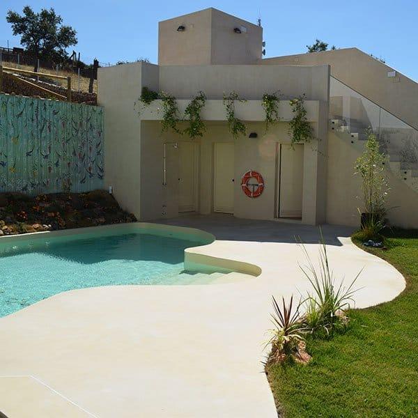 Microcemento Micropool para piscinas únicas