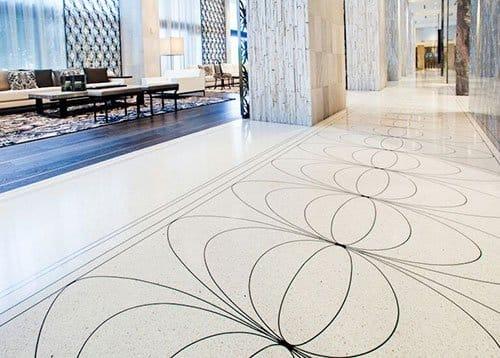 Pavimentos personalizados decorativos